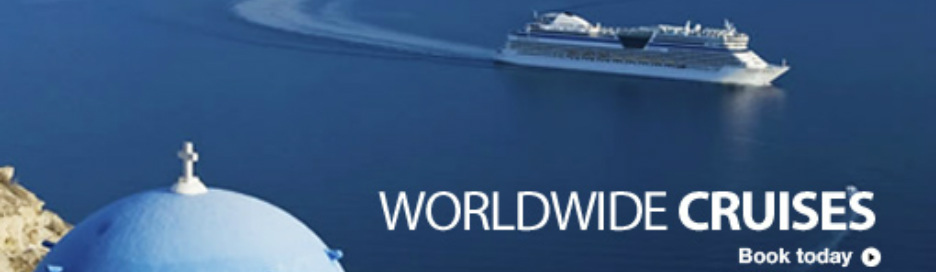 Worldwide Cruises with big discounts
